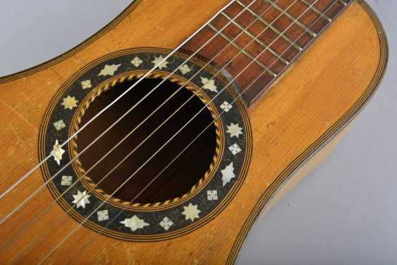 Guitar in the shape of a pear - photo 2