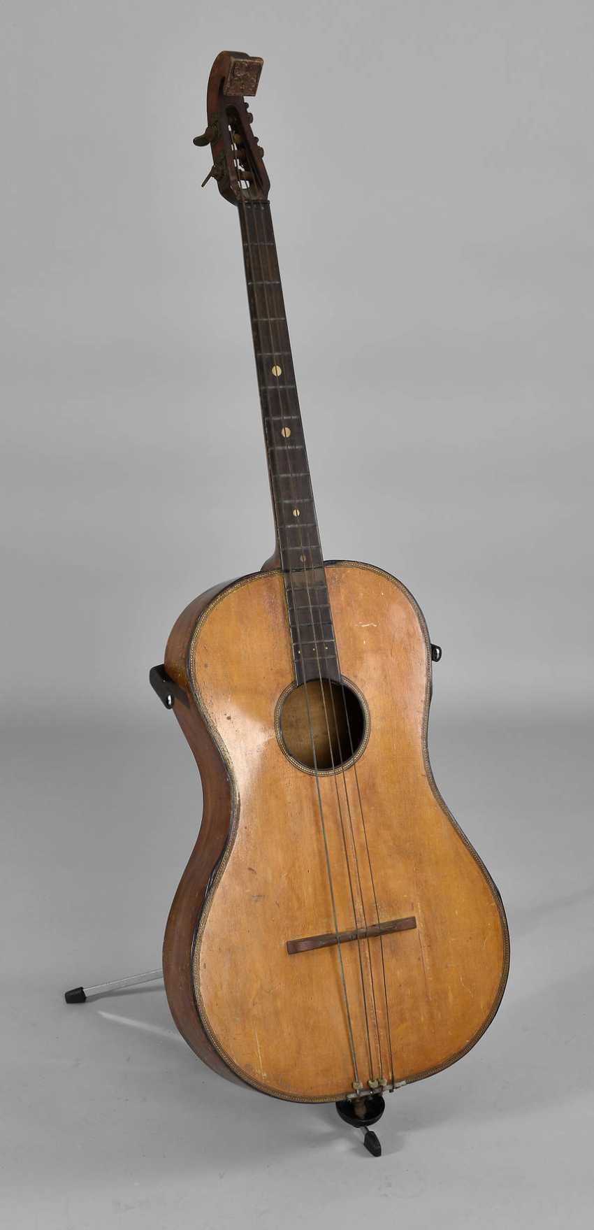 Kontrabass in Gitarrenform - photo 1