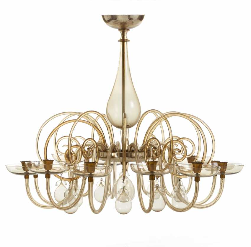 Luisa Chandelier Antique Brass