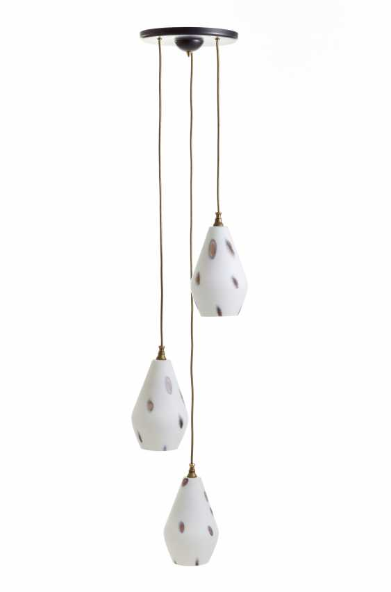 Suspension lamp with three lights - photo 1