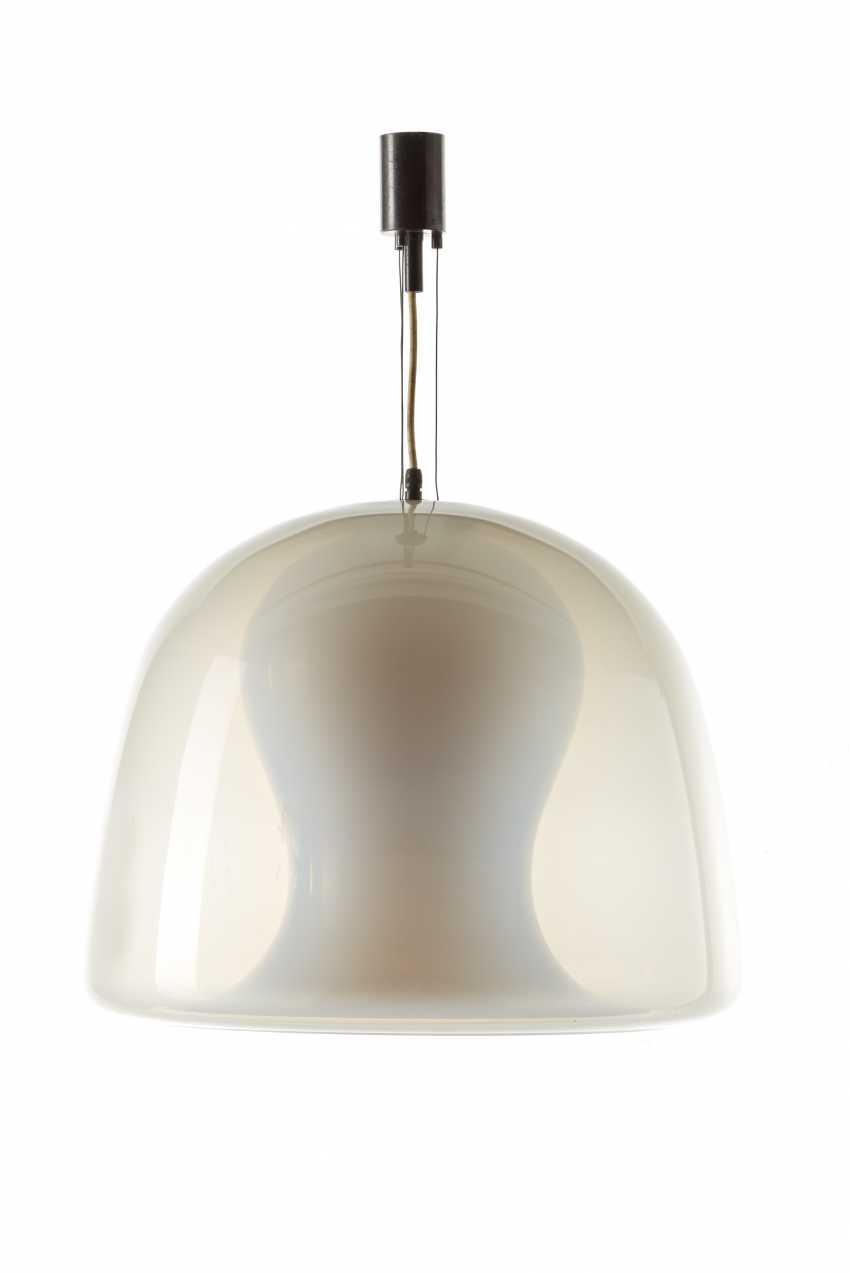 "Suspension lamp with double shell model ""Forma nella forma"" - photo 1"