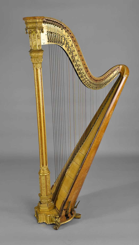 Concert Harp Brothers Erard - photo 1