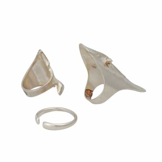 LAPPONIA Set of Ring and earrings, - photo 3