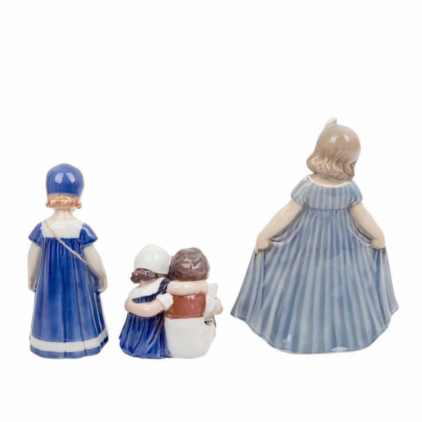 "DANISH PORCELAIN ""Three porcelain figurines"" - photo 4"
