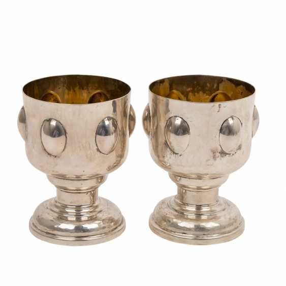 """ITALY """"Two cups,"""" in their mid 20's. Century. - photo 1"""