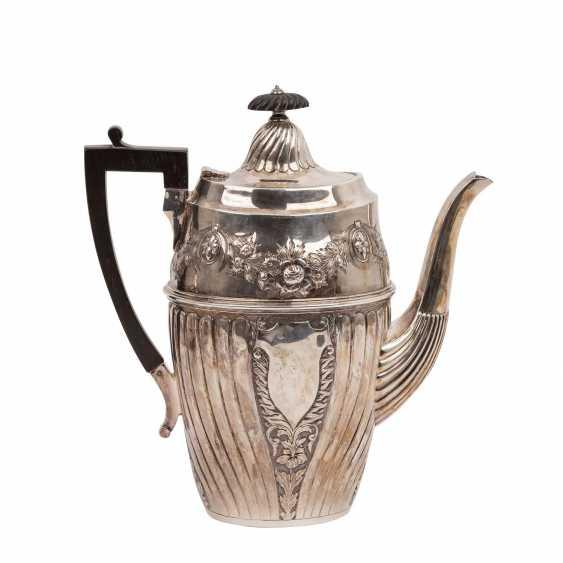 SHEFFIELD 4-teilig Kaffee-/Teekern, 1893, England - photo 2