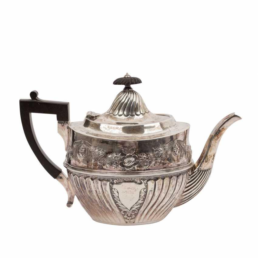 SHEFFIELD 4-teilig Kaffee-/Teekern, 1893, England - photo 3