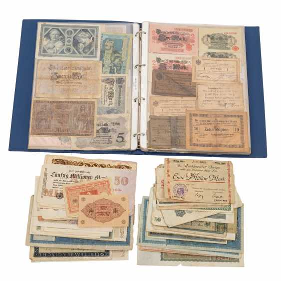 Historic banknotes Germany and Russia, 1. Half of the 20. Century. - - photo 1