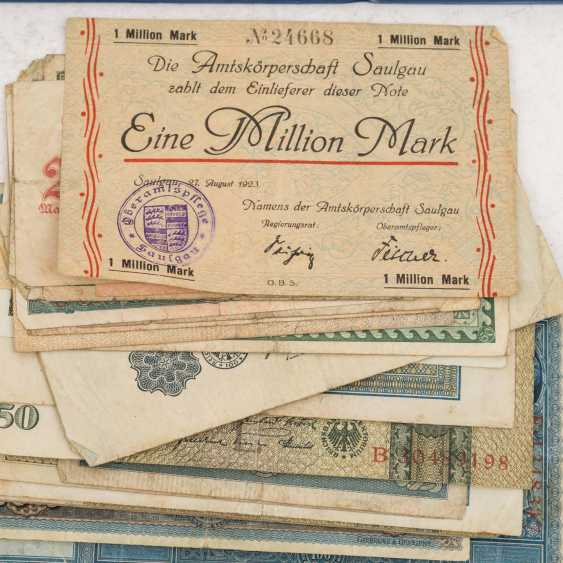 Historic banknotes Germany and Russia, 1. Half of the 20. Century. - - photo 3