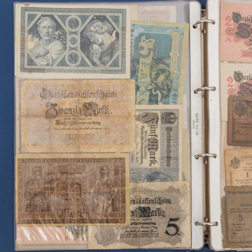 Historic banknotes Germany and Russia, 1. Half of the 20. Century. - - photo 5
