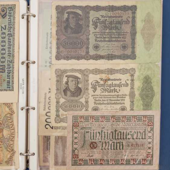 Historic banknotes Germany and Russia, 1. Half of the 20. Century. - - photo 6
