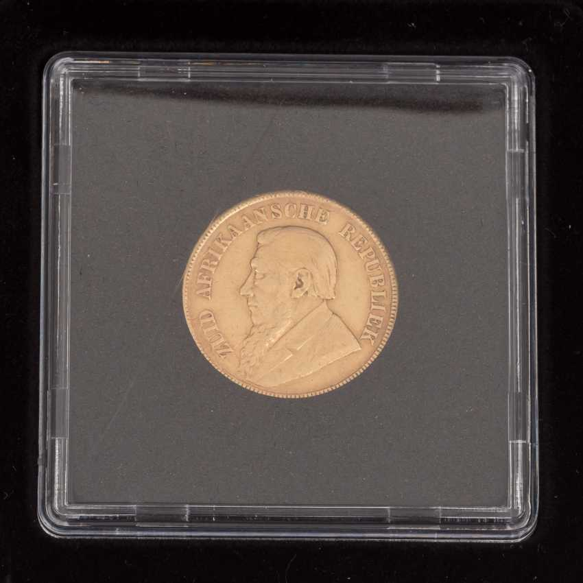 South Africa/GOLD - 1 pound of 1898, - photo 2