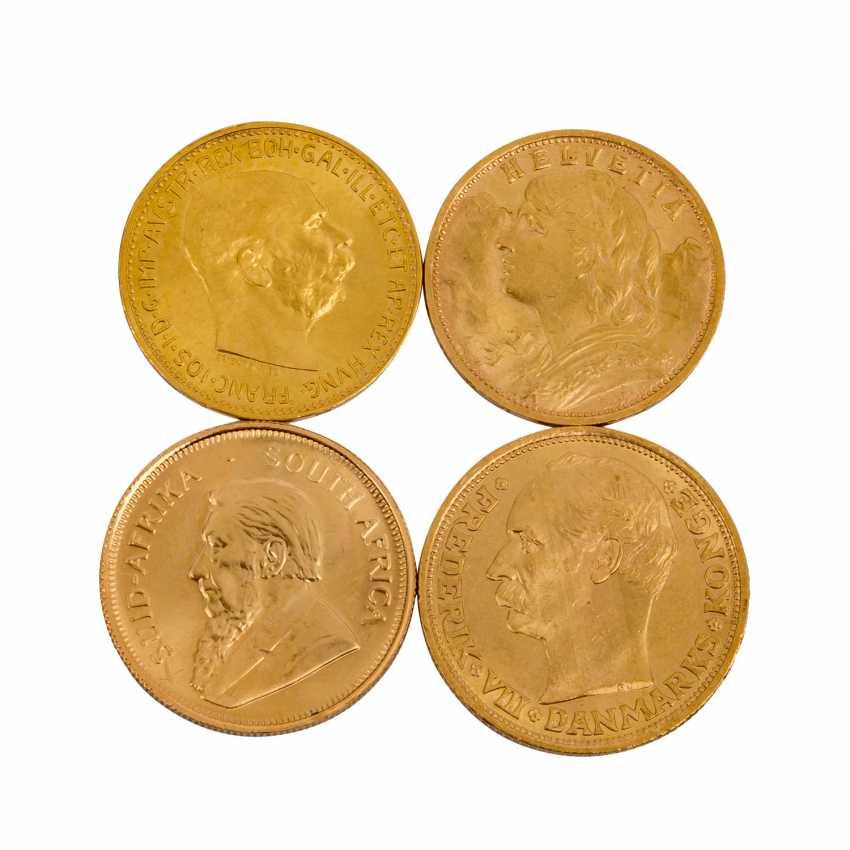 Investment Gold in 4 Teilen - - photo 1
