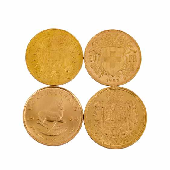 Investment Gold in 4 Teilen - - photo 2