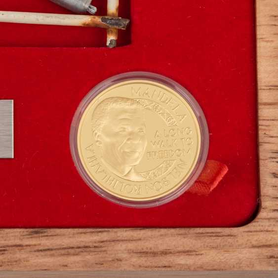 Nelson Mandela / GOLD - 2013, 1 medal with a total of 1 oz - photo 5