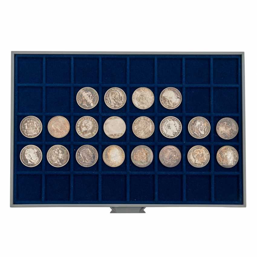 6 panels with coins of the Dt. The German Empire and the Weimar Republic - - photo 2