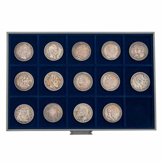 6 panels with coins of the Dt. The German Empire and the Weimar Republic - - photo 4