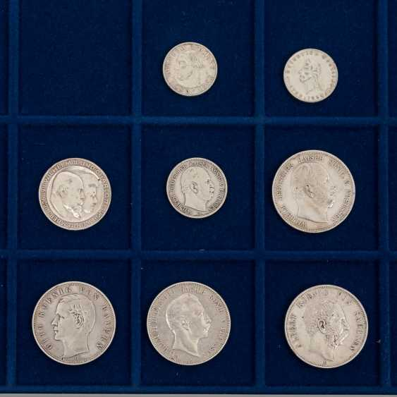 6 panels with coins of the Dt. The German Empire and the Weimar Republic - - photo 5