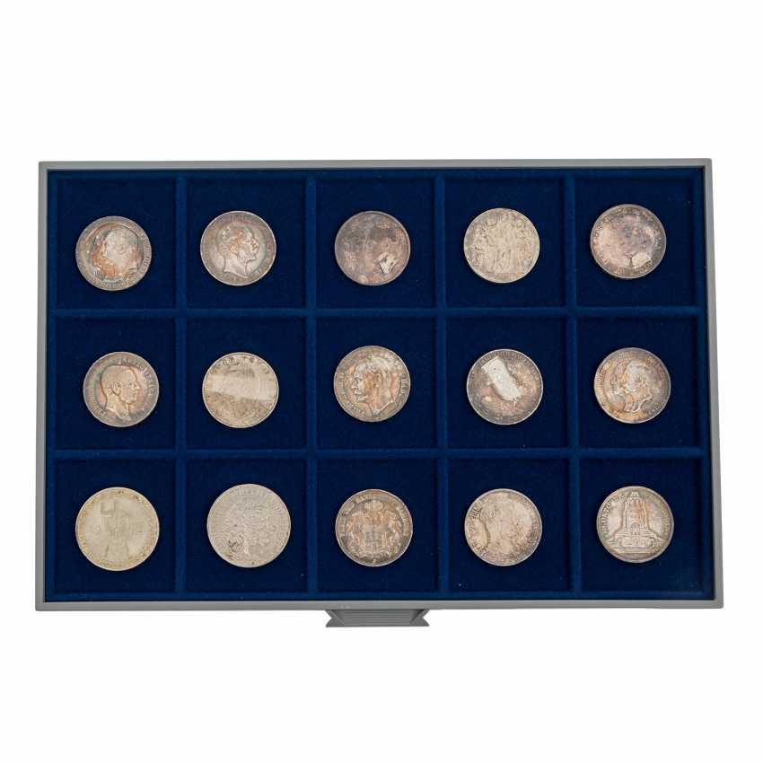 6 panels with coins of the Dt. The German Empire and the Weimar Republic - - photo 6