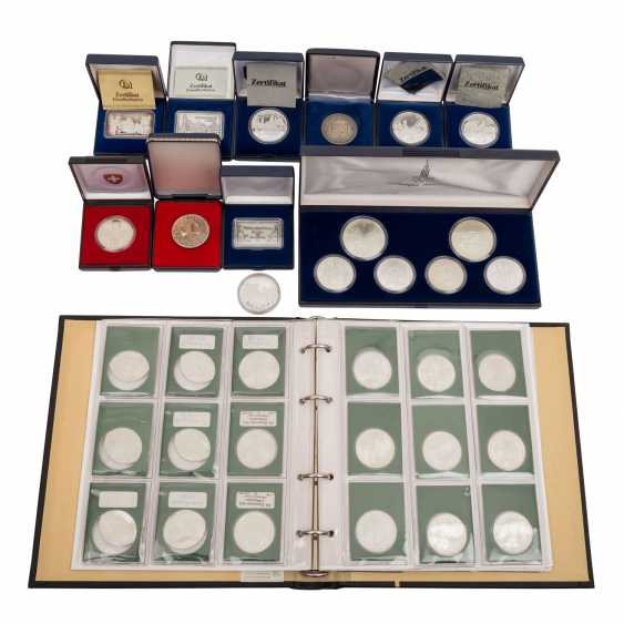 Coins and medals, with SILVER - - photo 1