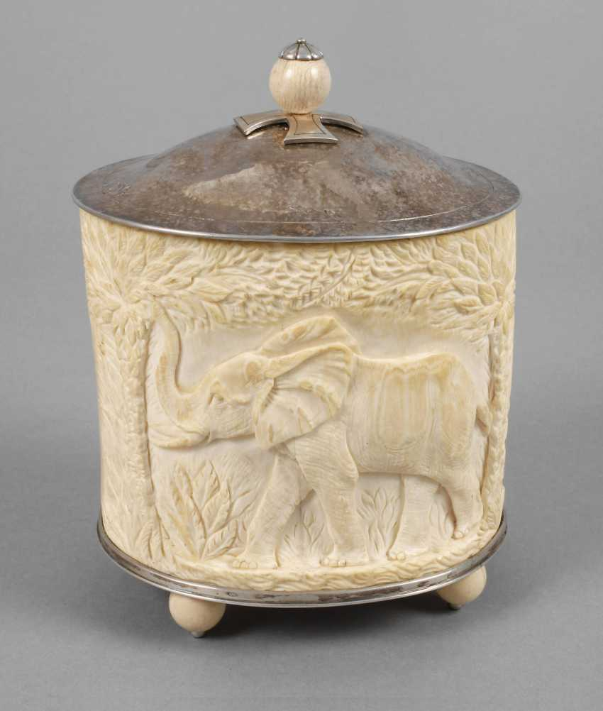 Lid Of Box In Ivory - photo 1