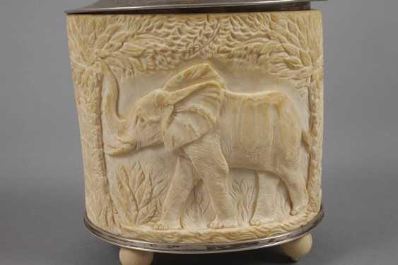 Lid Of Box In Ivory - photo 8