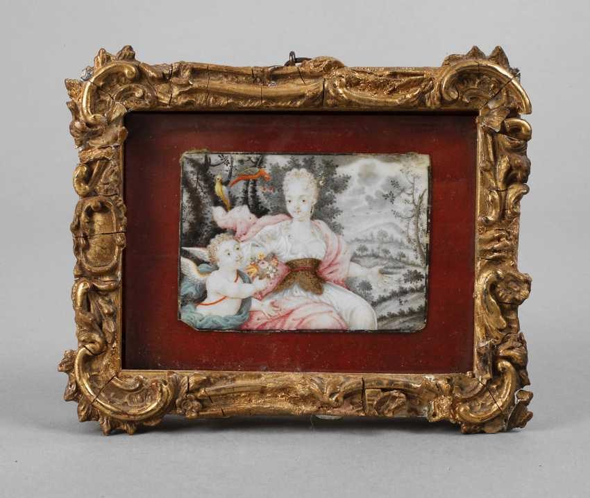 Ivory miniature - photo 1