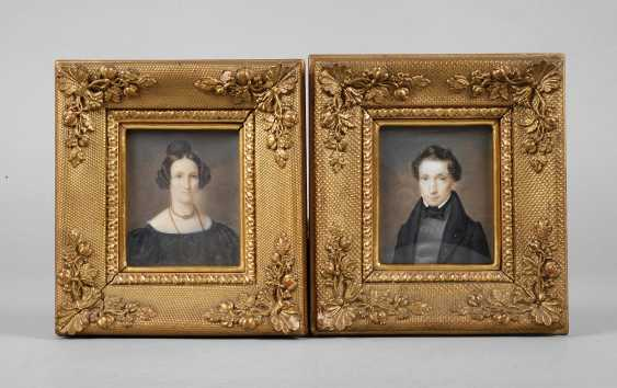 Pair Of Ivory Portraits - photo 1