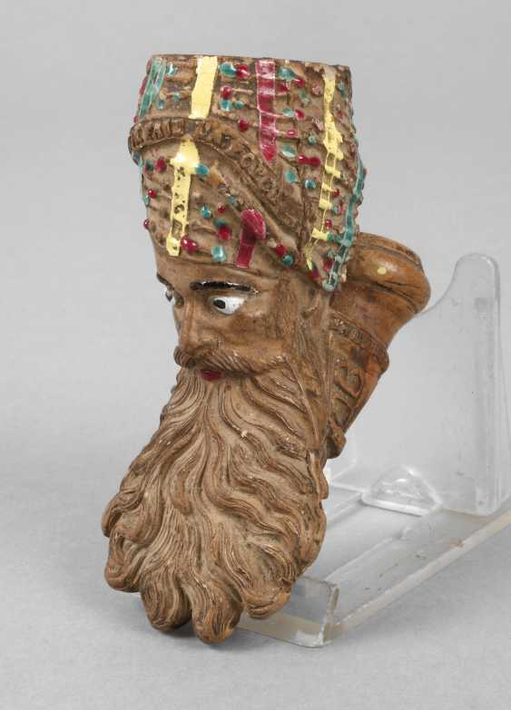 A Figural Pipe Head - photo 1