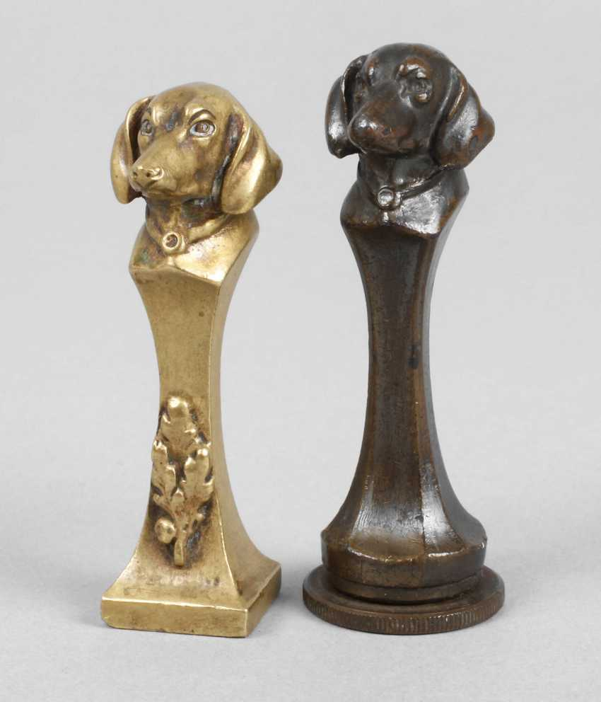 Two figural seals - photo 1
