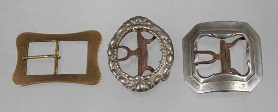 Three Belt Buckles - photo 1