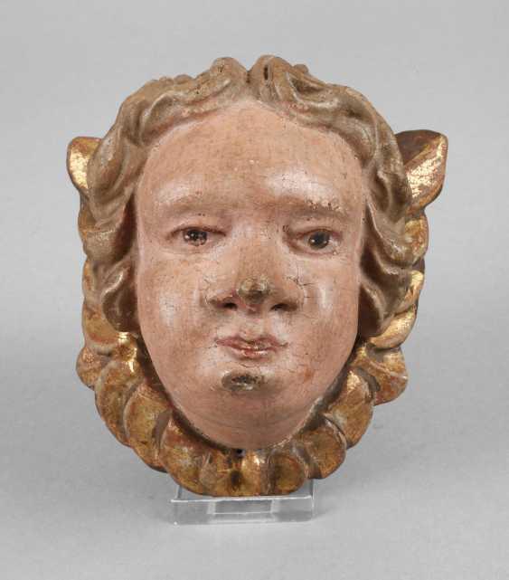 Carved Angel Head - photo 1