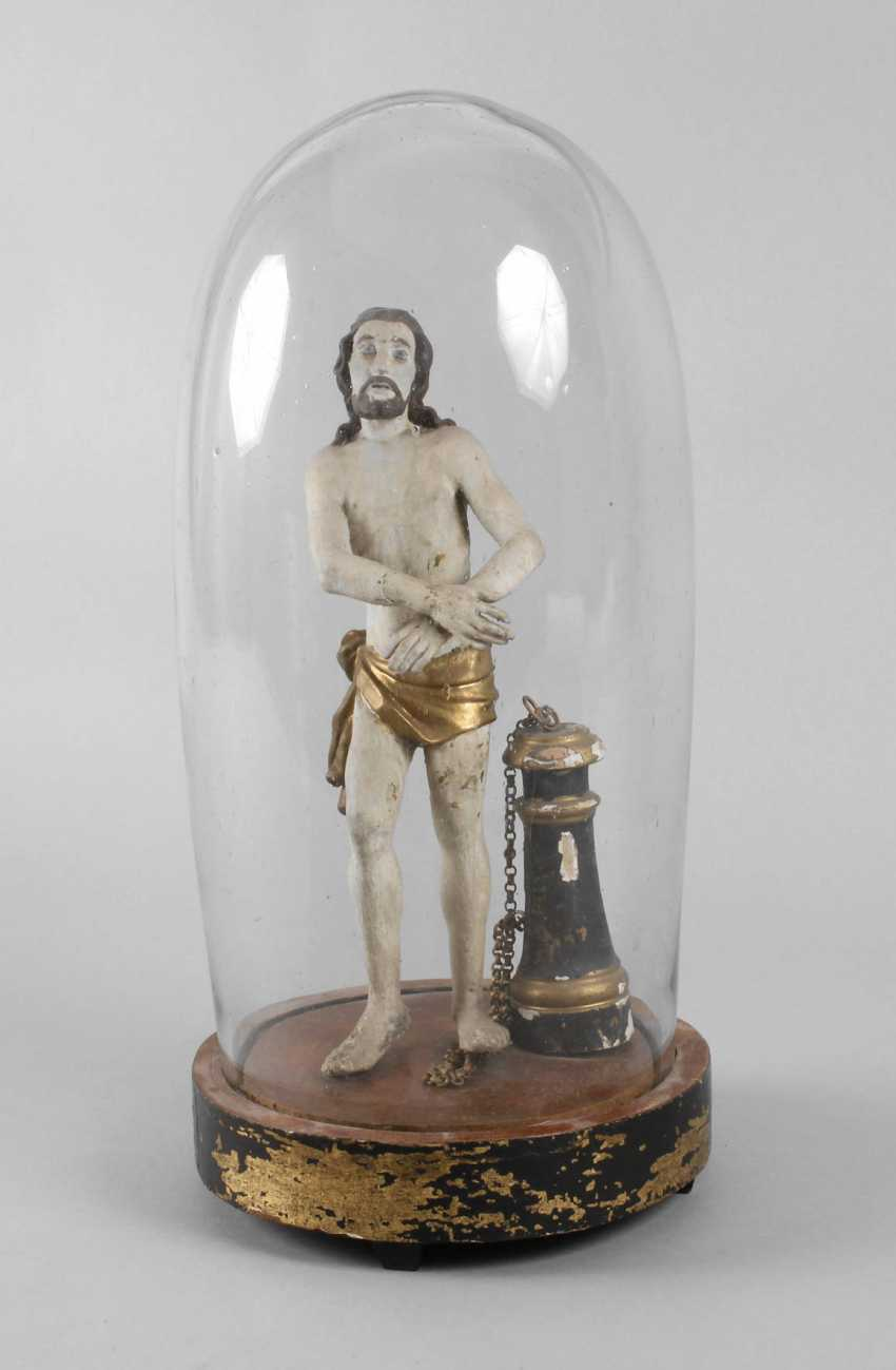 Christ Carved Plastic - photo 1