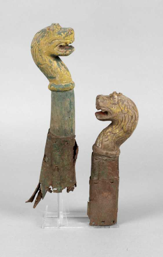 Two Sled Heads - photo 1