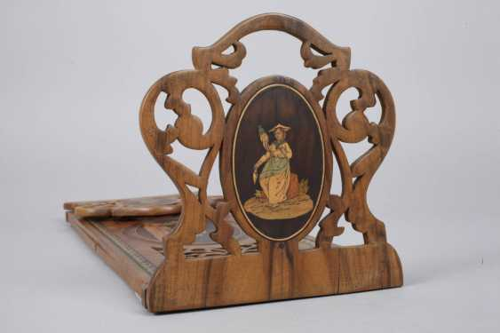 Book support with marquetry - photo 3