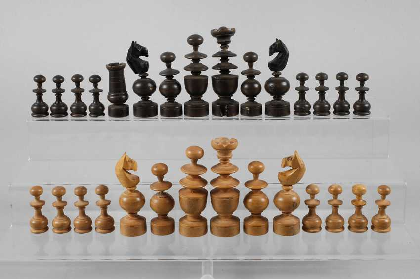 Vintage Chess Pieces - photo 1