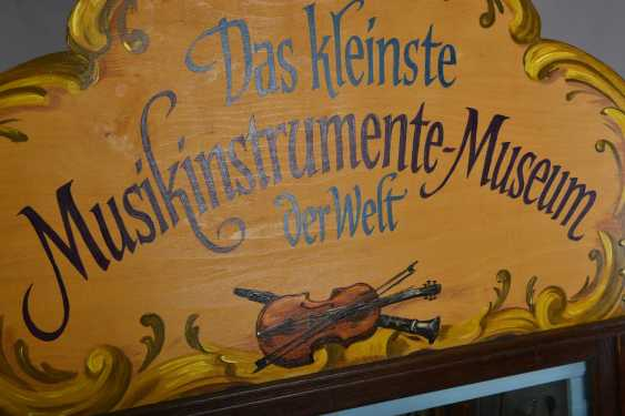 The smallest Museum of musical instruments of the world - photo 3