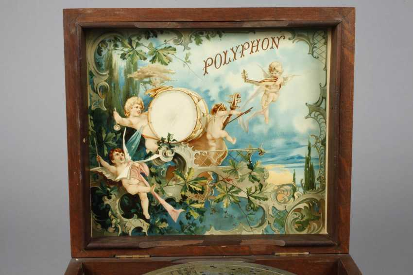 Plate Music Box Polyphon - photo 4
