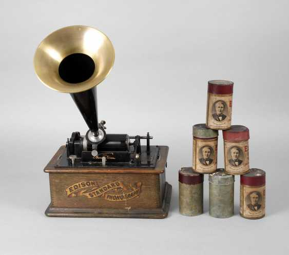 Edison Phonograph - photo 1