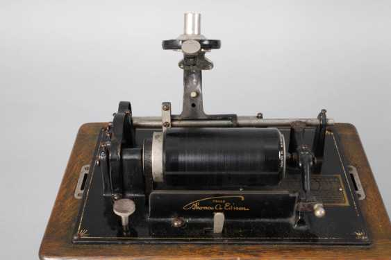 Edison Phonograph - photo 2