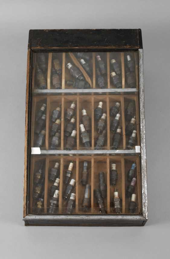 Collection of historic spark plugs - photo 1