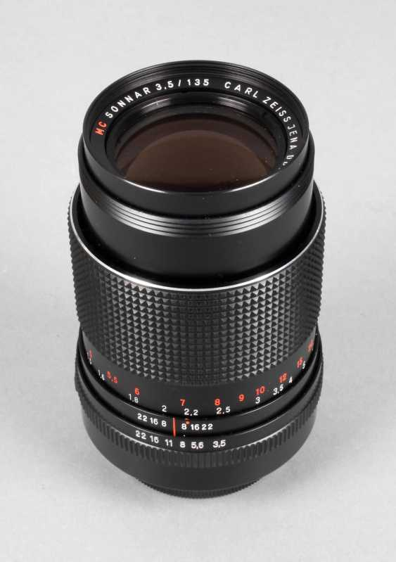 Lens Carl Zeiss Jena - photo 1
