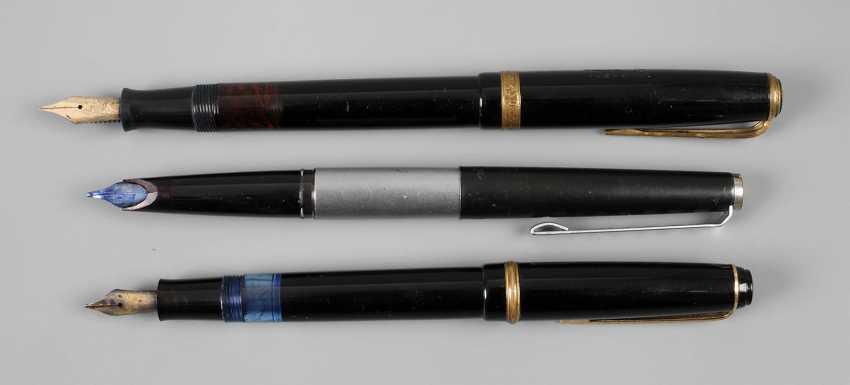 Three Fountain Pens - photo 1
