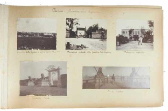 China Fotoalbum um 1900.