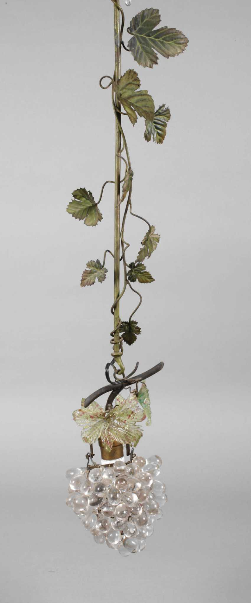 Ceiling lamp as a vine - photo 1