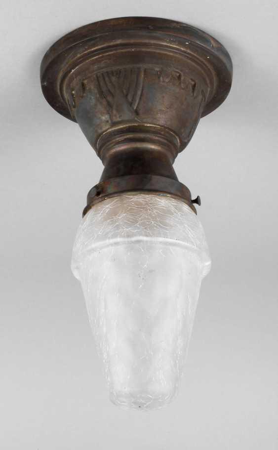 Small Ceiling Lamp Art Nouveau - photo 1