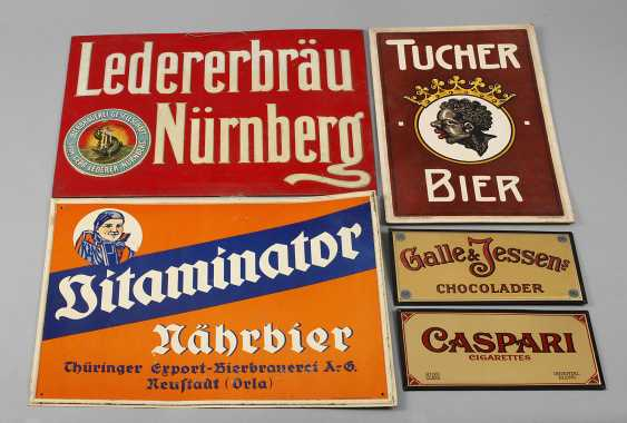 Five Advertising Signs - photo 1