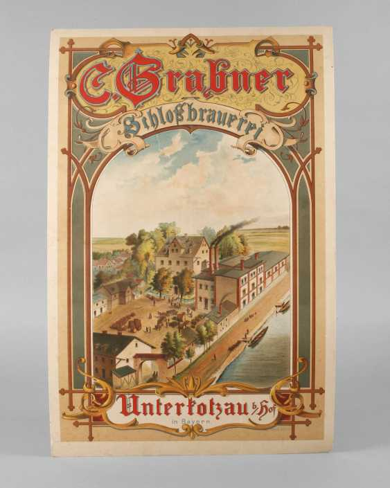 Promotional Poster Castle Brewery Grabner - photo 1