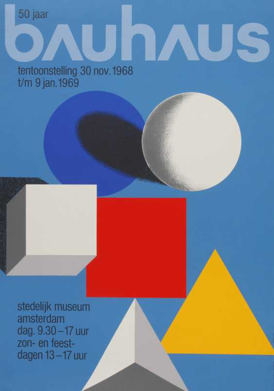 Exhibition Poster The Bauhaus - photo 1