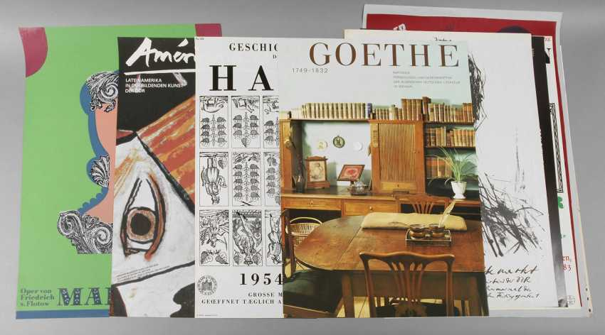 Group exhibition and theatre posters - photo 1
